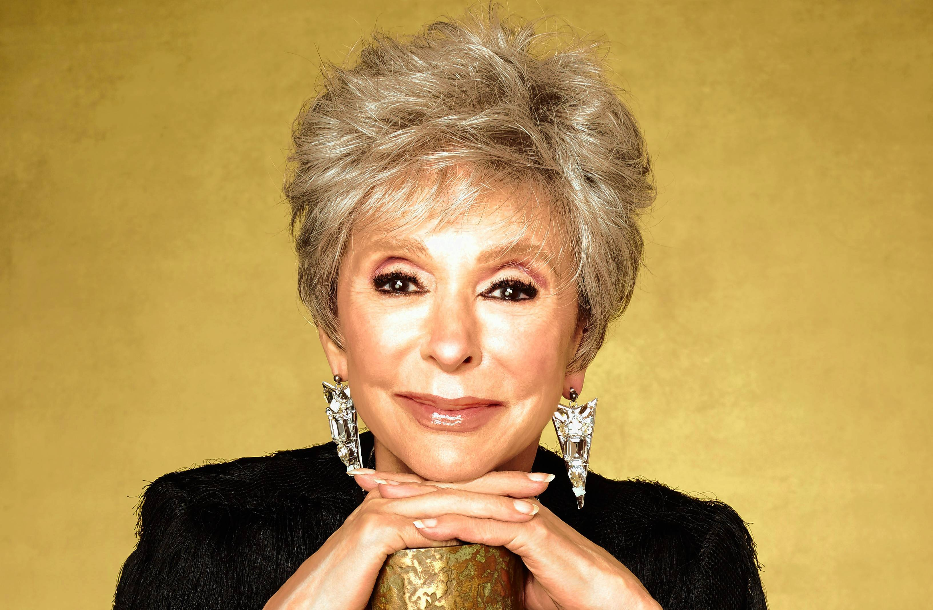 Rita Moreno, one of the few winners of the entertainment Grand Slam — an Emmy, Tony, Grammy and Oscar — appears at the Arcada Theatre Sunday, Feb. 26.