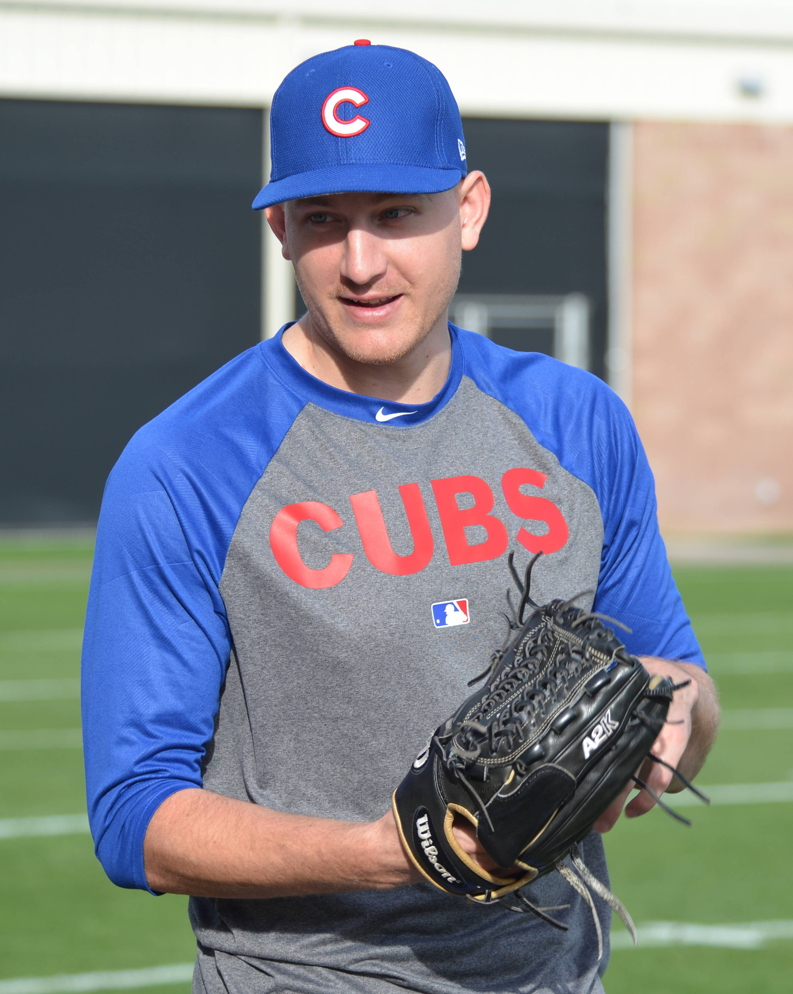 Bruce Miles/bmiles@dailyherald.com Cubs pitcher Mike Montgomery