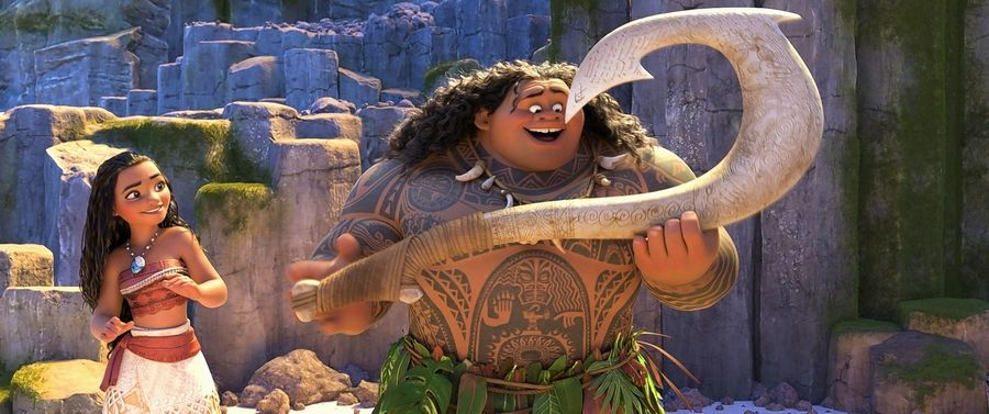 "Disney animators, led by Norridge native John Musker, visited the South Seas several time to gain inspiration for their movie ""Moana,"" such as Maui, a demigod with a magic fishing hook,"