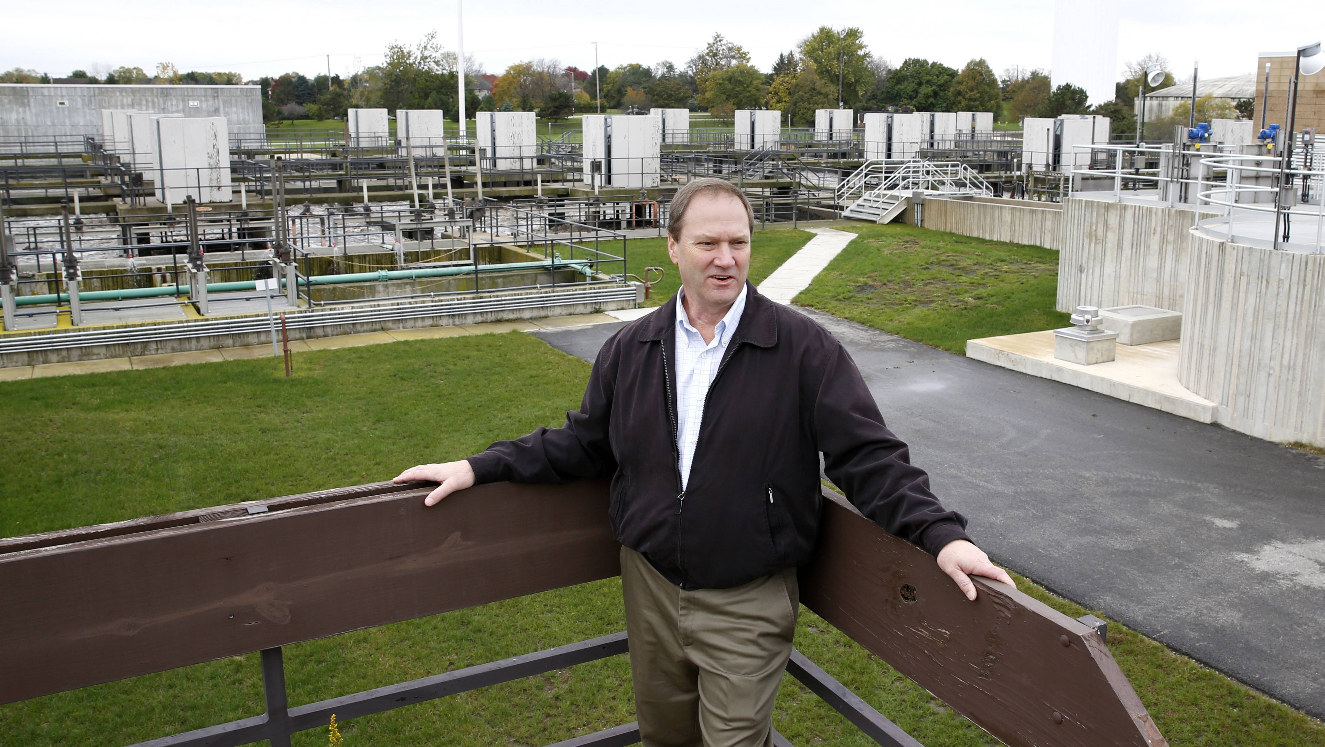 Jim Holzapfel, water and wastewater utility director for the city of Naperville, is recommending water rate increases each of the next five years to pay for operating costs, maintenance and improvement projects to the Springbrook Water Reclamation Center and the entire water delivery system.