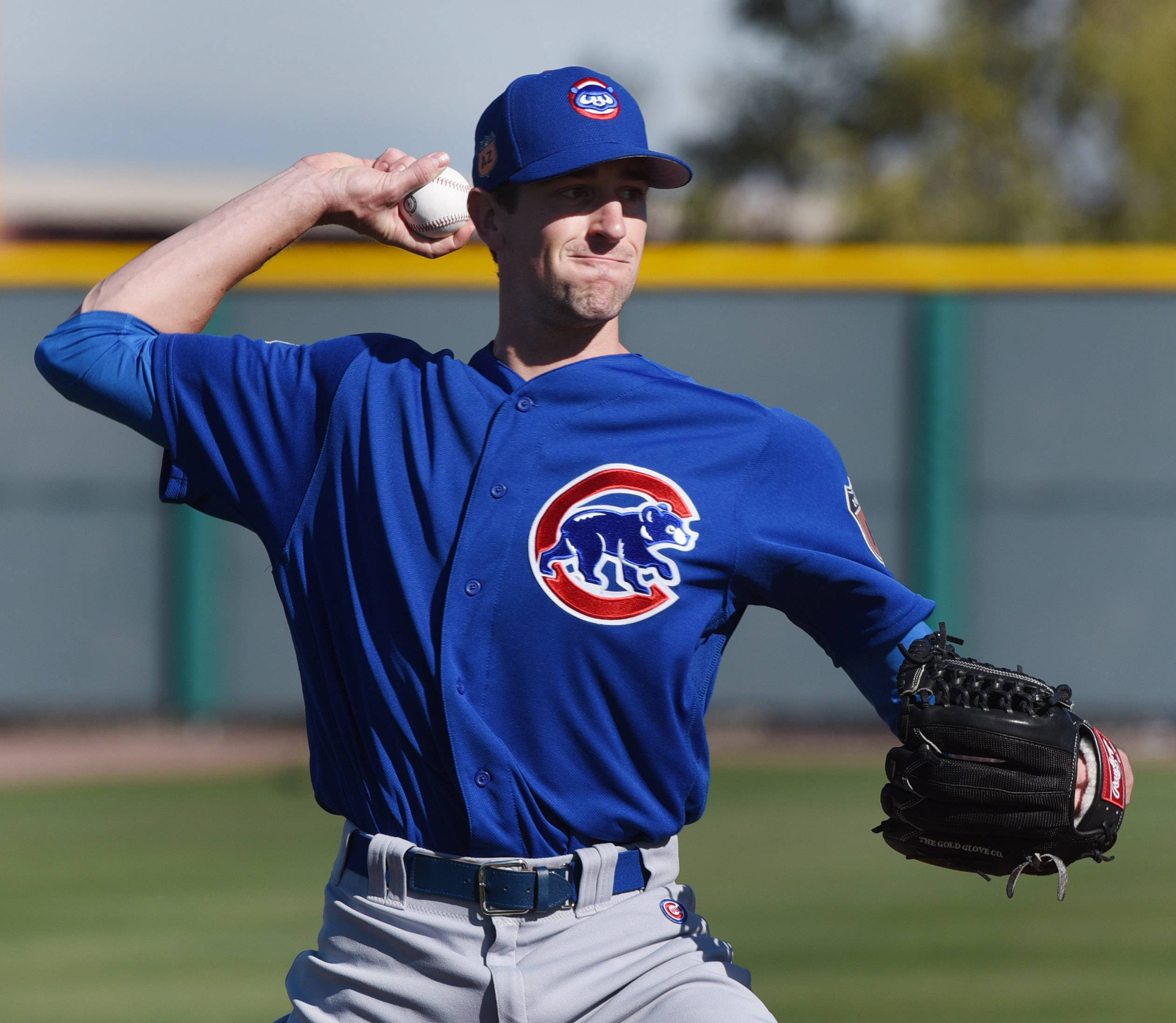 Chicago Cubs starting pitcher Kyle Hendricks, only 27, is tied for first in postseason starts for the Cubs with 7. Mordecai Brown, Jon Lester and Jake Arrieta also have 7 postseason starts for the franchise.