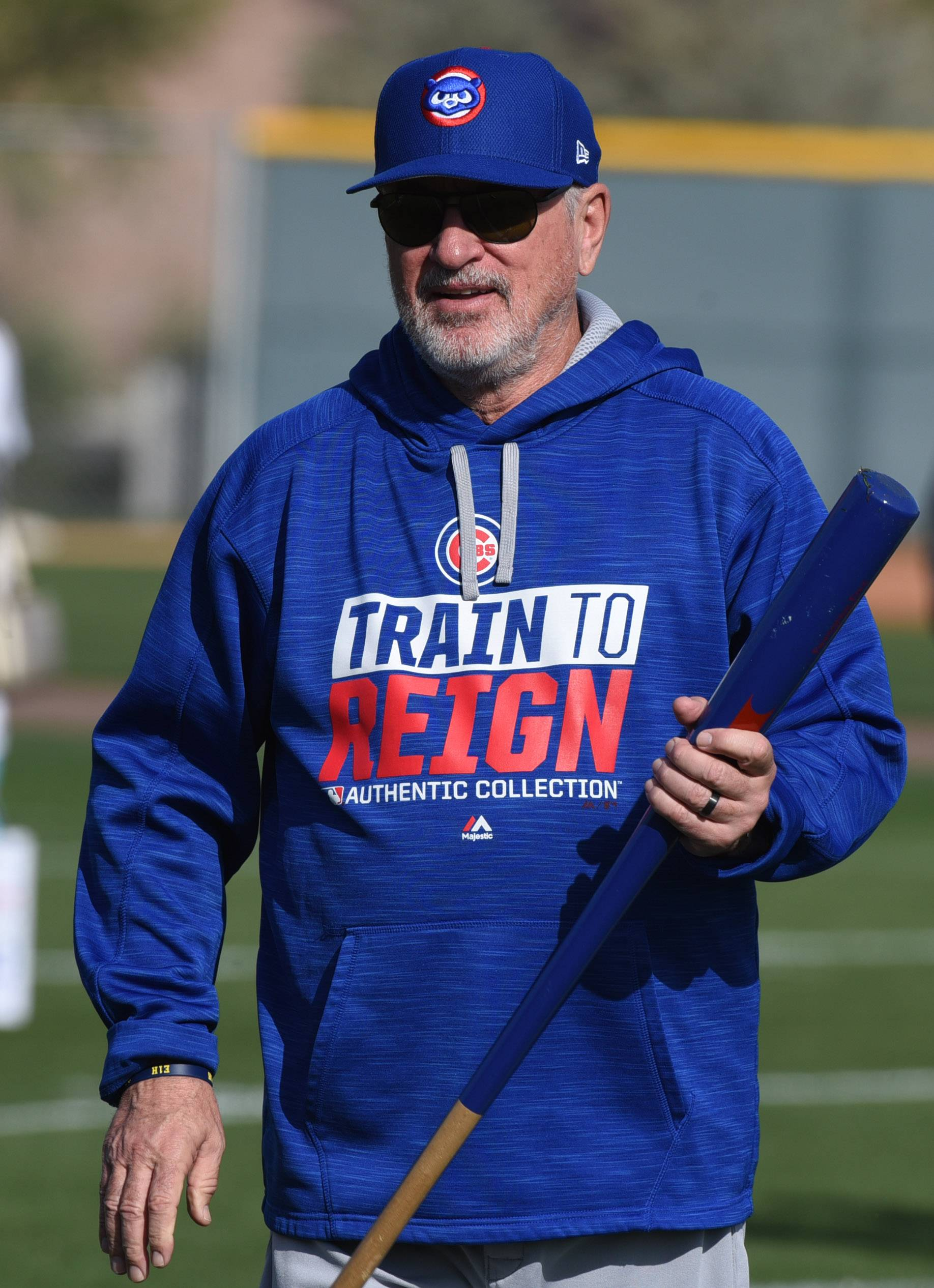 Chicago Cubs manager Joe Maddon wants his players to face their fears and push past them.