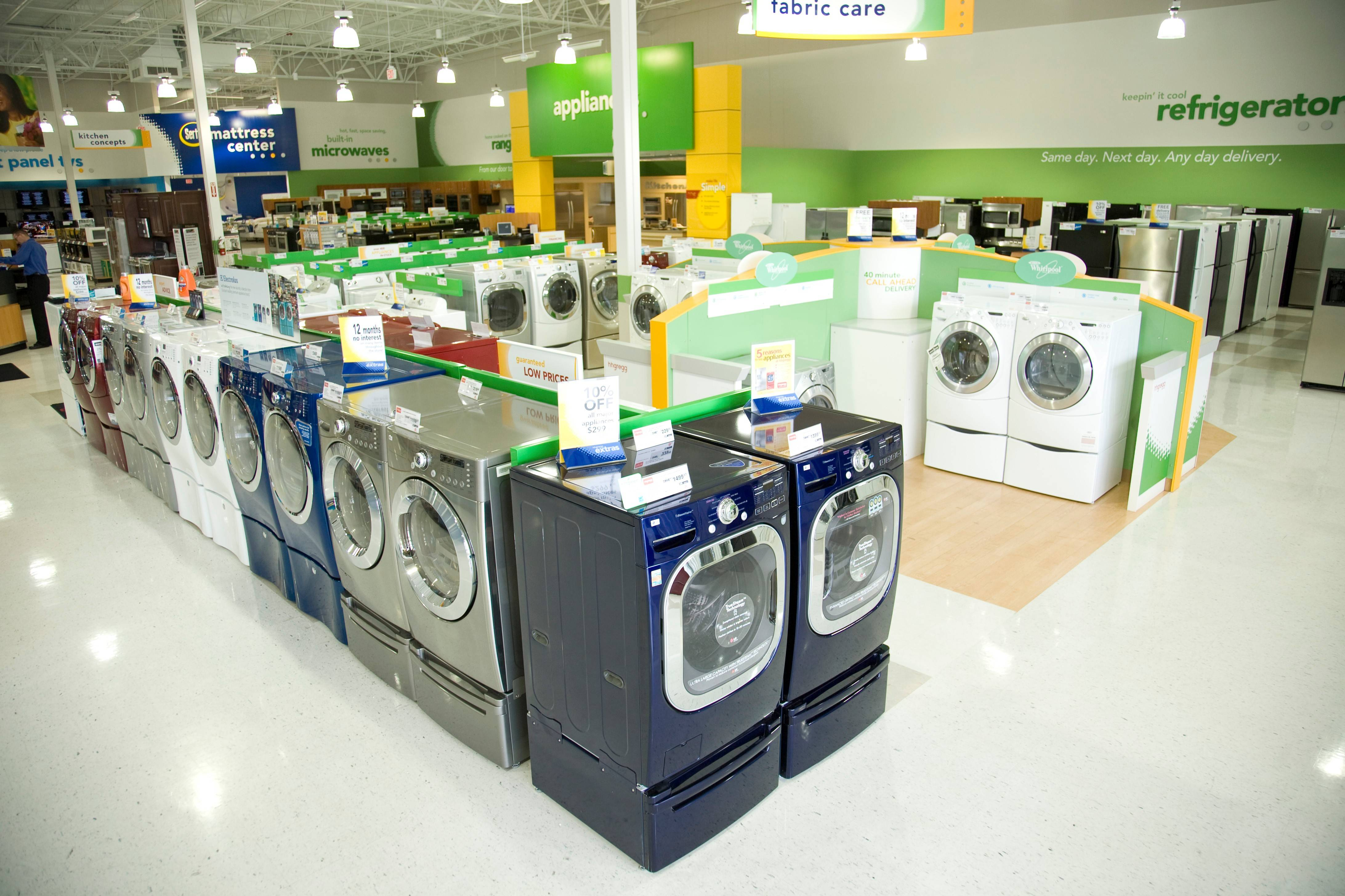 Indianapolis-based HHGregg faced extreme challenges from other big box stores that sell appliances.