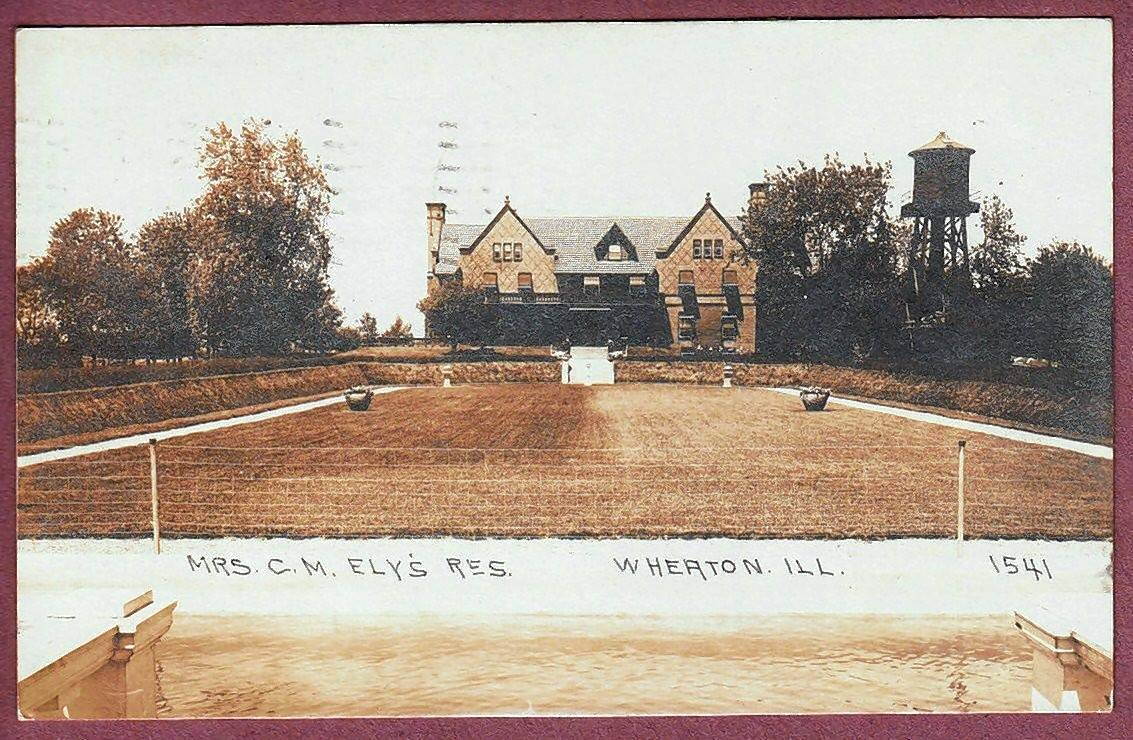 A 1910 postcard shows the House of Seven Gables, a mansion that would be demolished along with other Loretto buildings to make way for a subdivision of 48 homes.