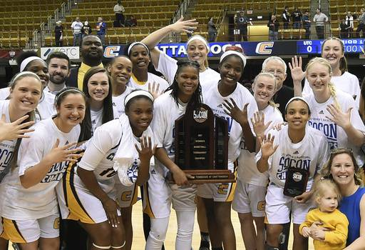 Chattanooga women rally past Mercer 61-59 to win SoCon