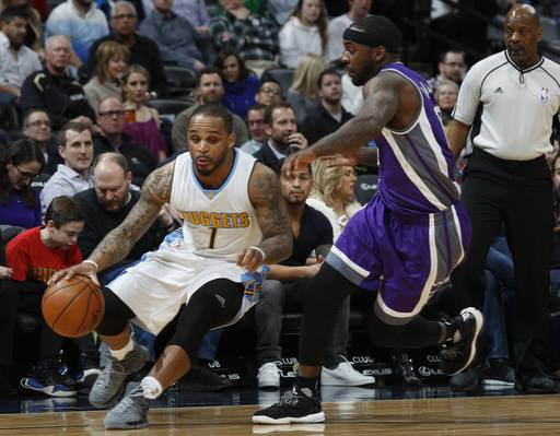 Chandler scores career-high 36, Nuggets beat Kings 108-96