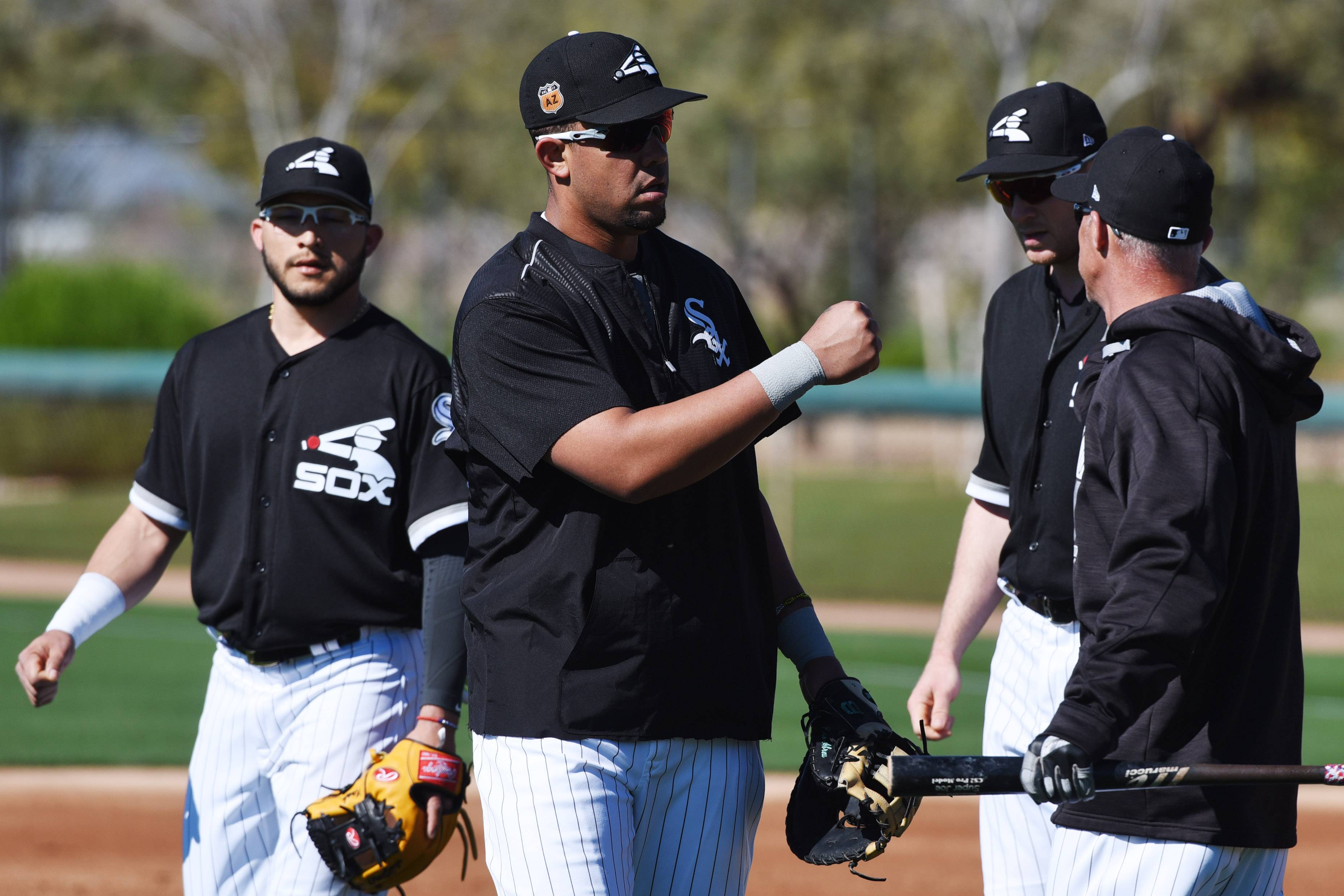 First baseman Abreu OK with some DH for Chicago White Sox
