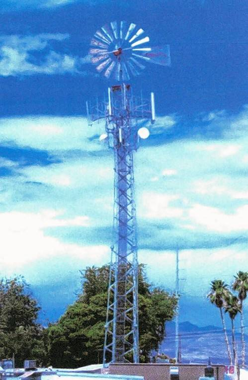 how to build a cell tower