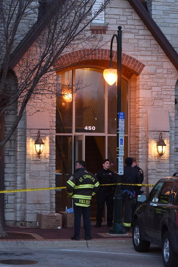 Three people died from gunshot wounds Friday night on the 400 block of South First Street in St. Charles.