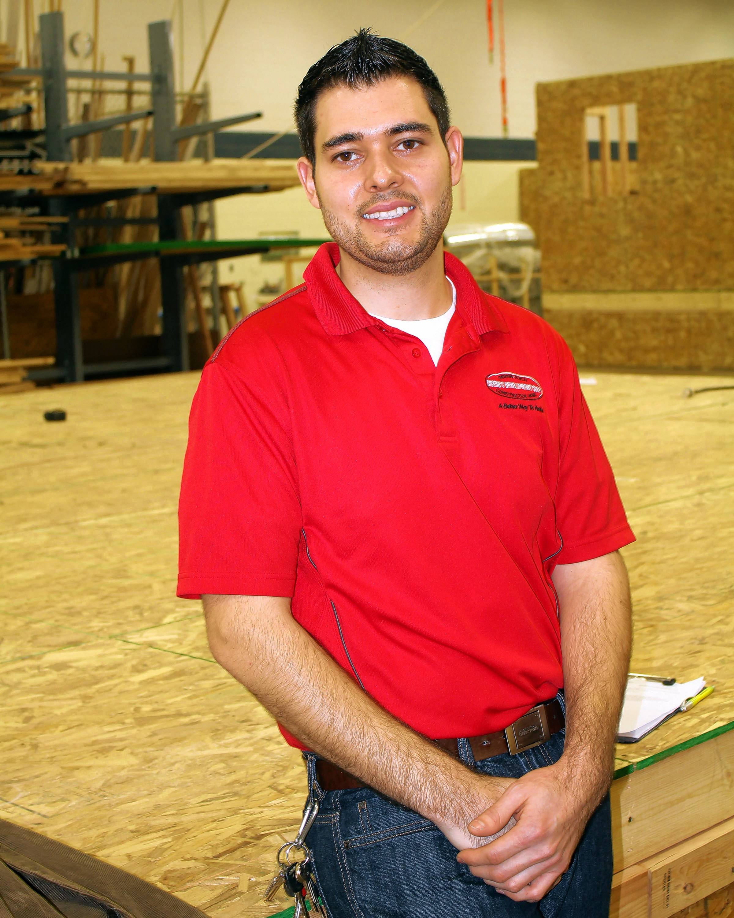 Jose Ortiz began preparing for his career in 2005 as a high school junior from West Chicago Community High School in the construction trades program at Technology Center of DuPage. He is now a project manager for Cicero's Development Corporation in Plainfield.