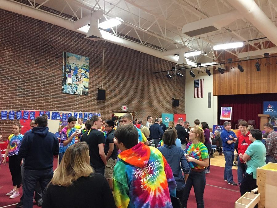 Northwest Suburban High School District 214 and Prospect Heights Elementary District 23 recently partnered to provide dedicated space for District 214's WildStang robotics team. Members, who will use eight rooms at MacArthur.