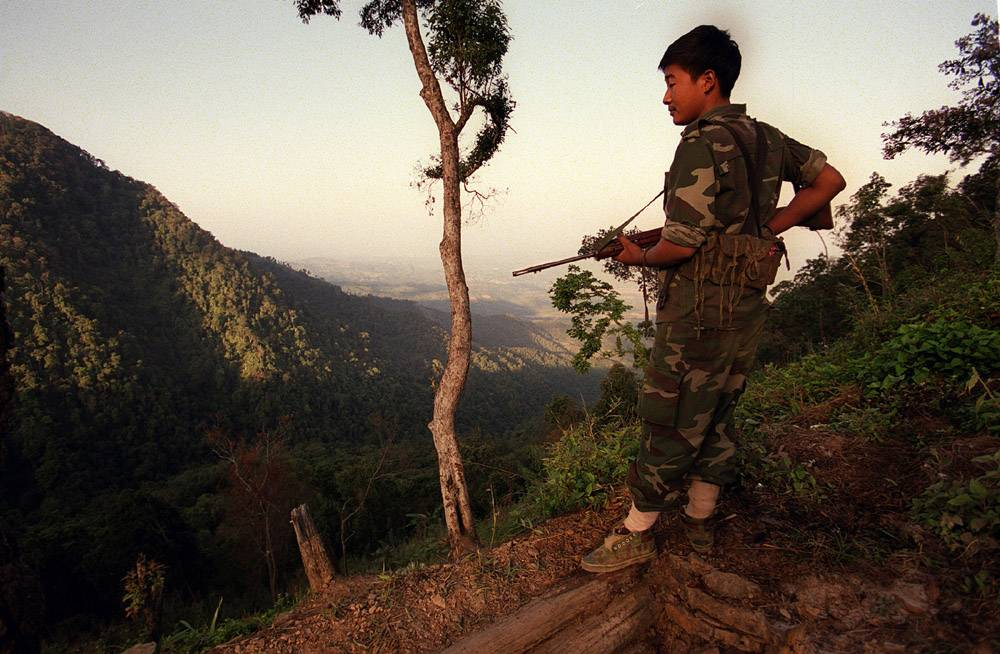 'Passage from India': Rebels fight for Christian nation in Nagaland
