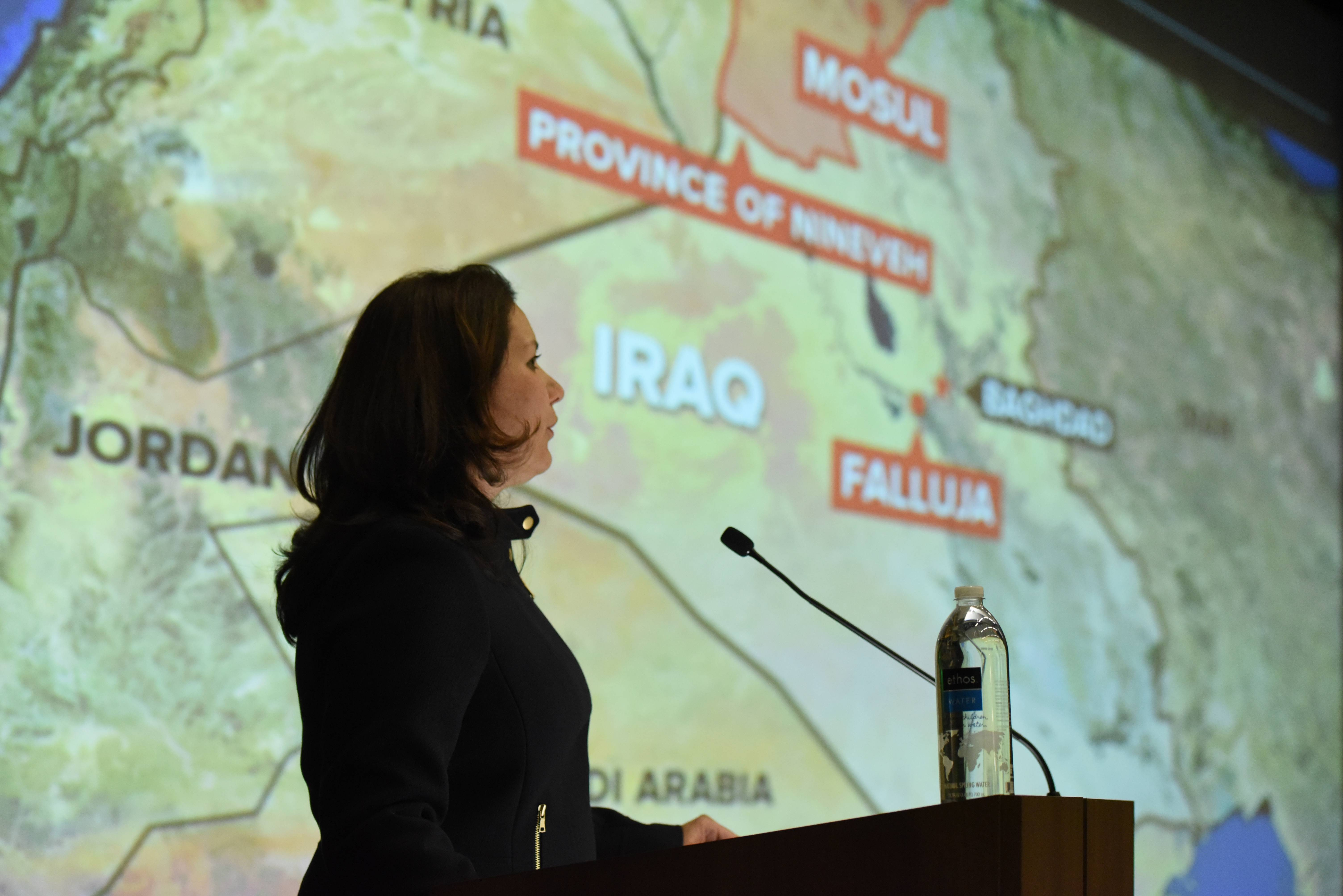 Journalist describes fight for Mosul at Benedictine talk