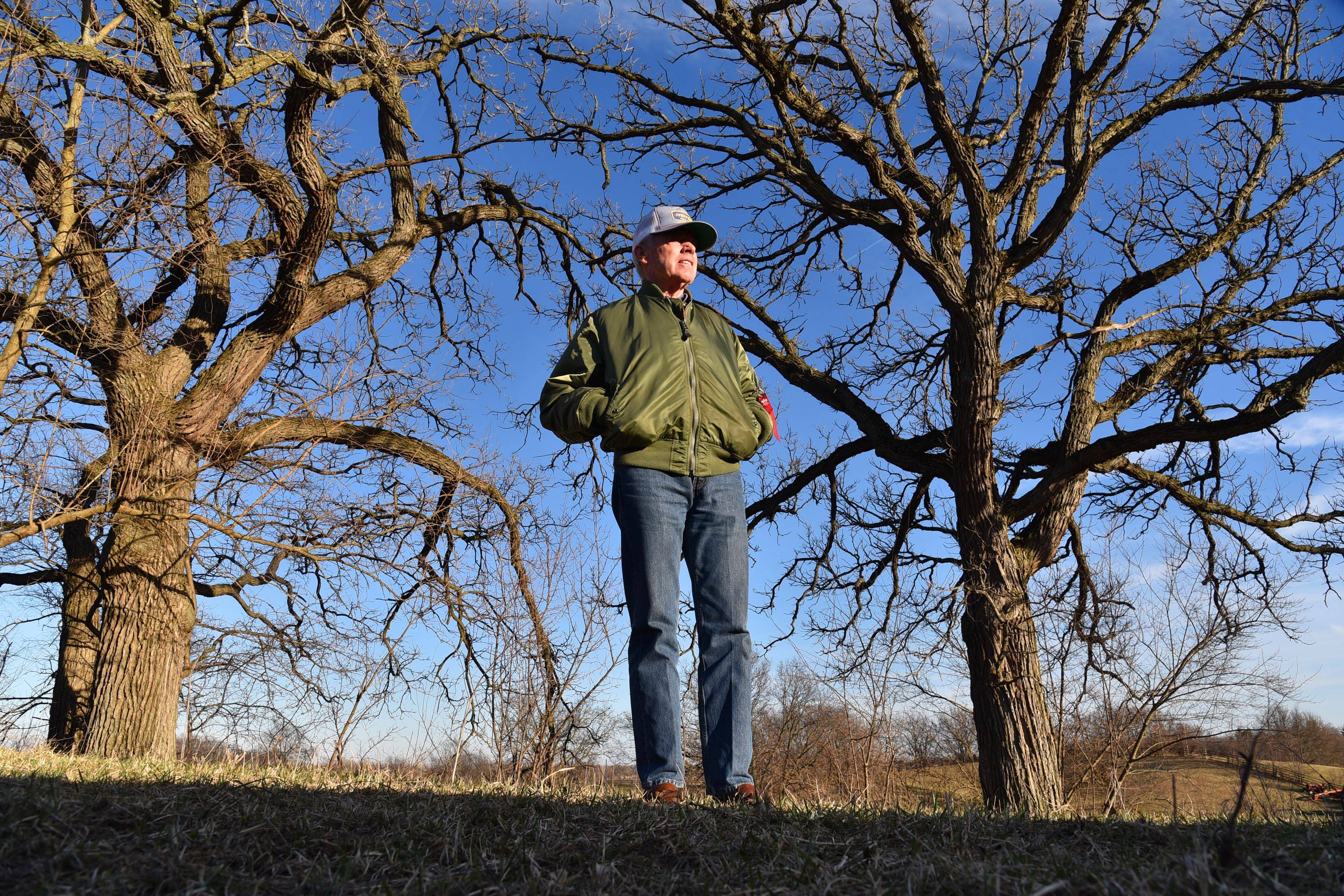 Bob Oury had his Gilberts home bulldozed by the Kane County Forest Preserve District. He has another plot picked out and hopes to build another home near the property.
