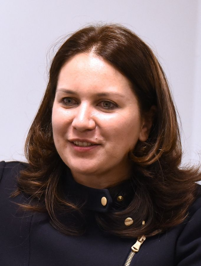 Rukmini Callimachi, a correspondent for The New York Times and a former Daily Herald reporter, discussed her reporting in Mosul during a recent visit at Benedictine University.