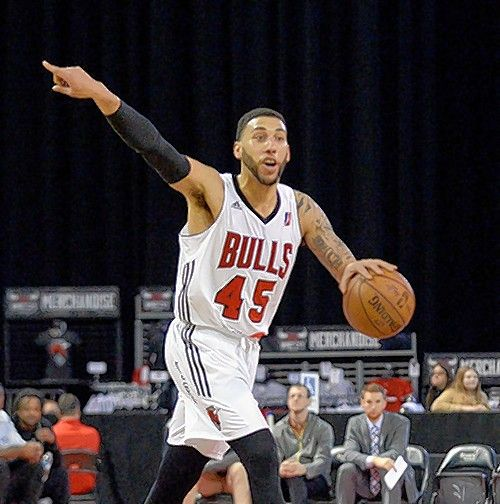 Denzel Valentine played a few games for the Windy City Bulls this season. The league expects to expand to 25 teams next year..