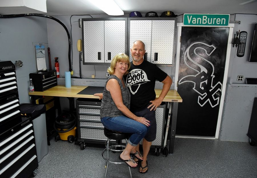 Rob And Liz Ruisz Of Schaumburg Won Last Year S Garage Makeover Contest Sponsored By The