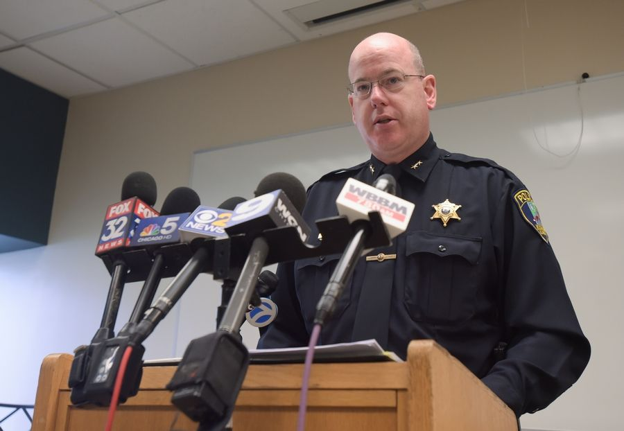 St. Charles Deputy Police Chief David Kintz released new details Sunday about a father who fatally shot his twin daughters and then himself Friday in their home.