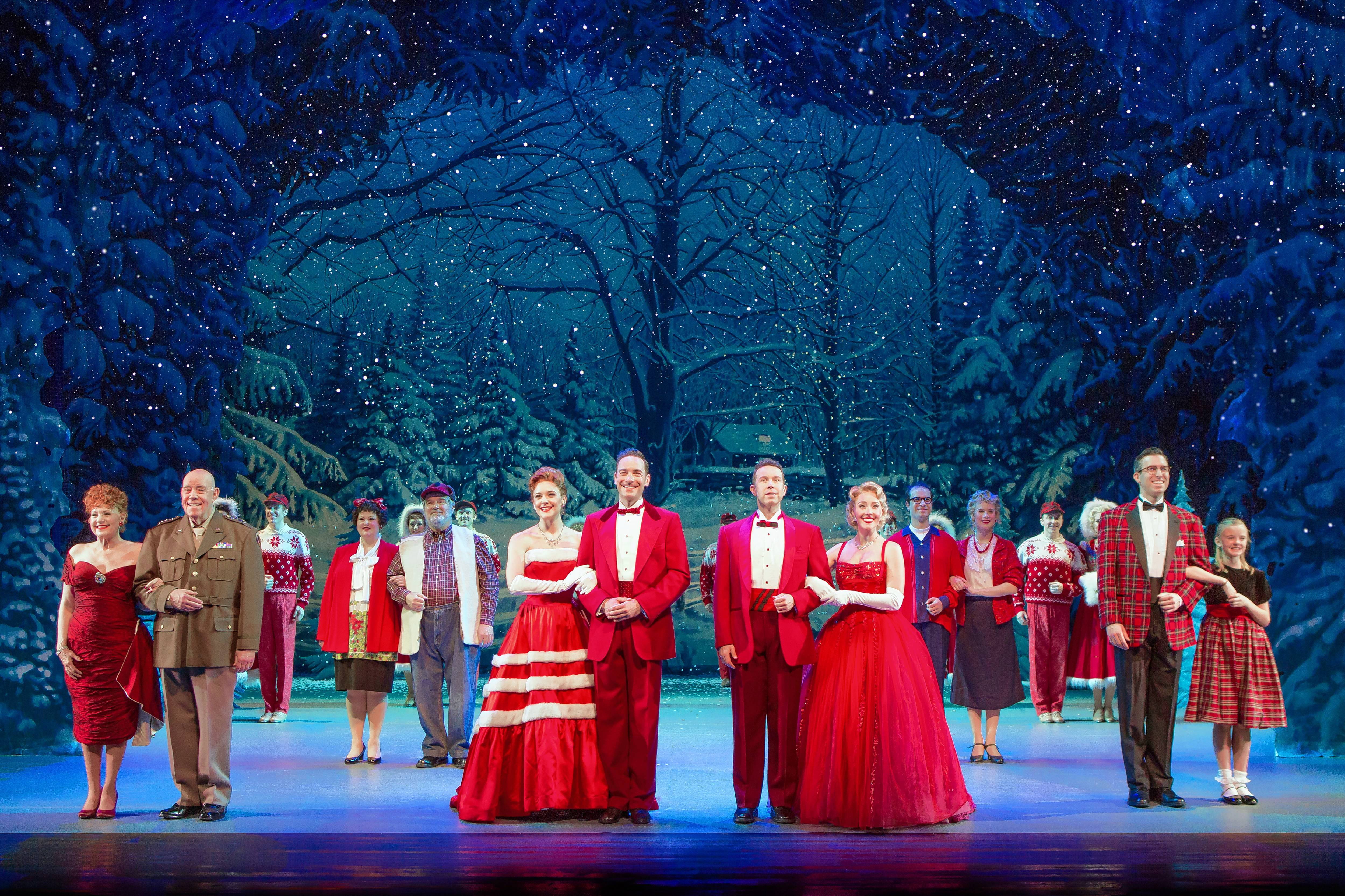 "A national tour of the Broadway musical ""Irving Berlin's White Christmas"" returns to Chicago at the Cadillac Palace Theatre from Tuesday, Nov. 21, through Sunday, Dec. 3."