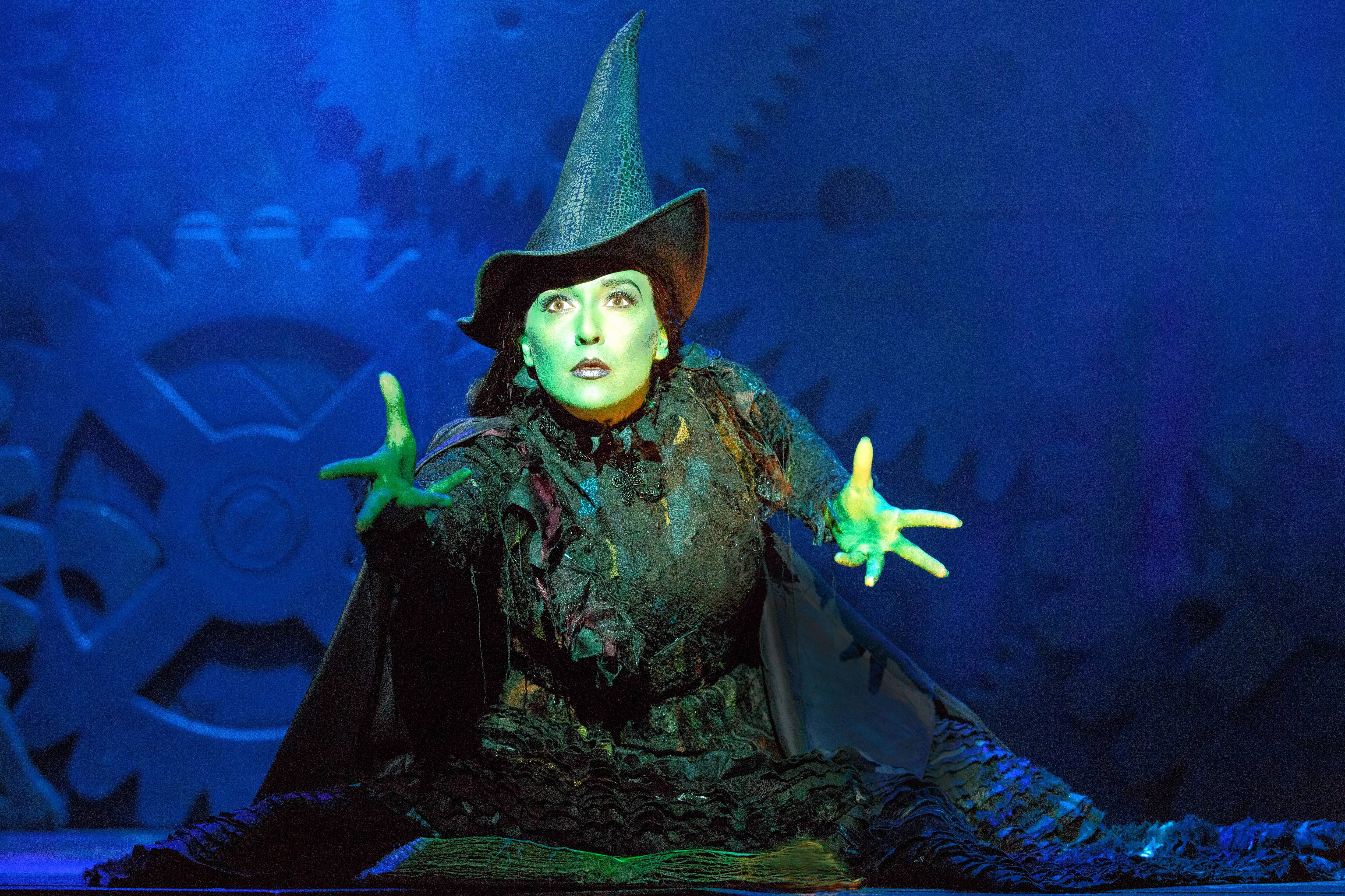 "Jessica Vosk stars as Elphaba in the national tour of ""Wicked,"" which will return to Chicago for a holiday run at the Oriental Theatre from Wednesday, Dec. 6, through Sunday, Jan. 21, 2018."
