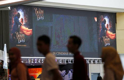'Beauty and the Beast' shelved in Malaysia despite approval