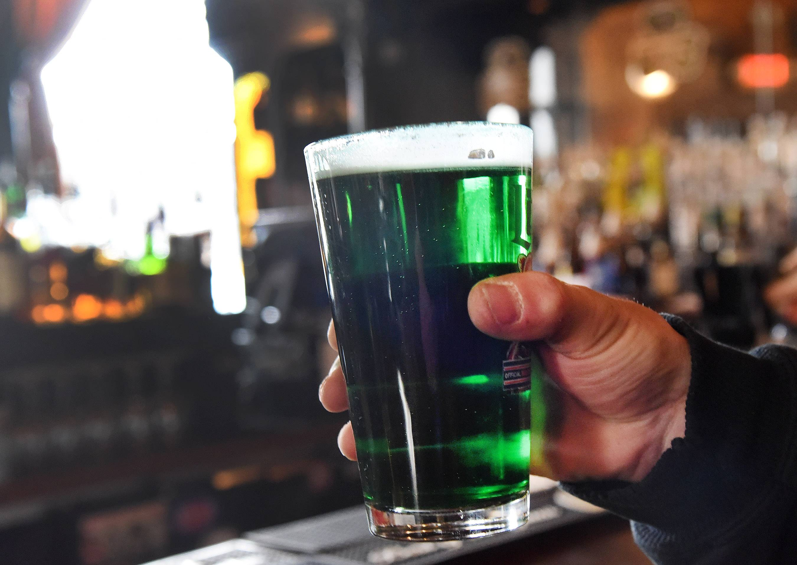 Toast to St. Patrick's Day at McGonigal's Pub in Barrington.