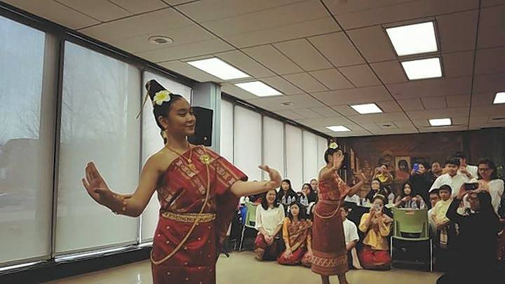 The youth members of the Lan Xang Traditional Lao Music & Dance Troupe, based in Elgin, are planning a trip to Laos this summer. The group performs at events across the Chicago area.