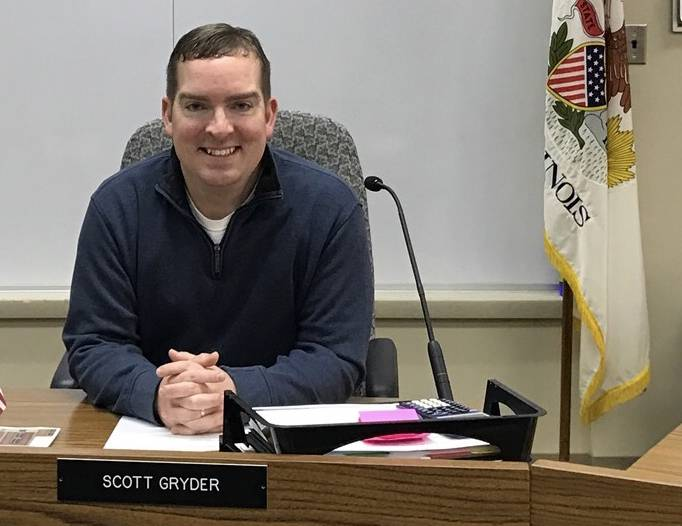 Scott Gryder is Kendall County Board Chairman and an Oswego professional who says federal regulations are hindering Main Street businesses.