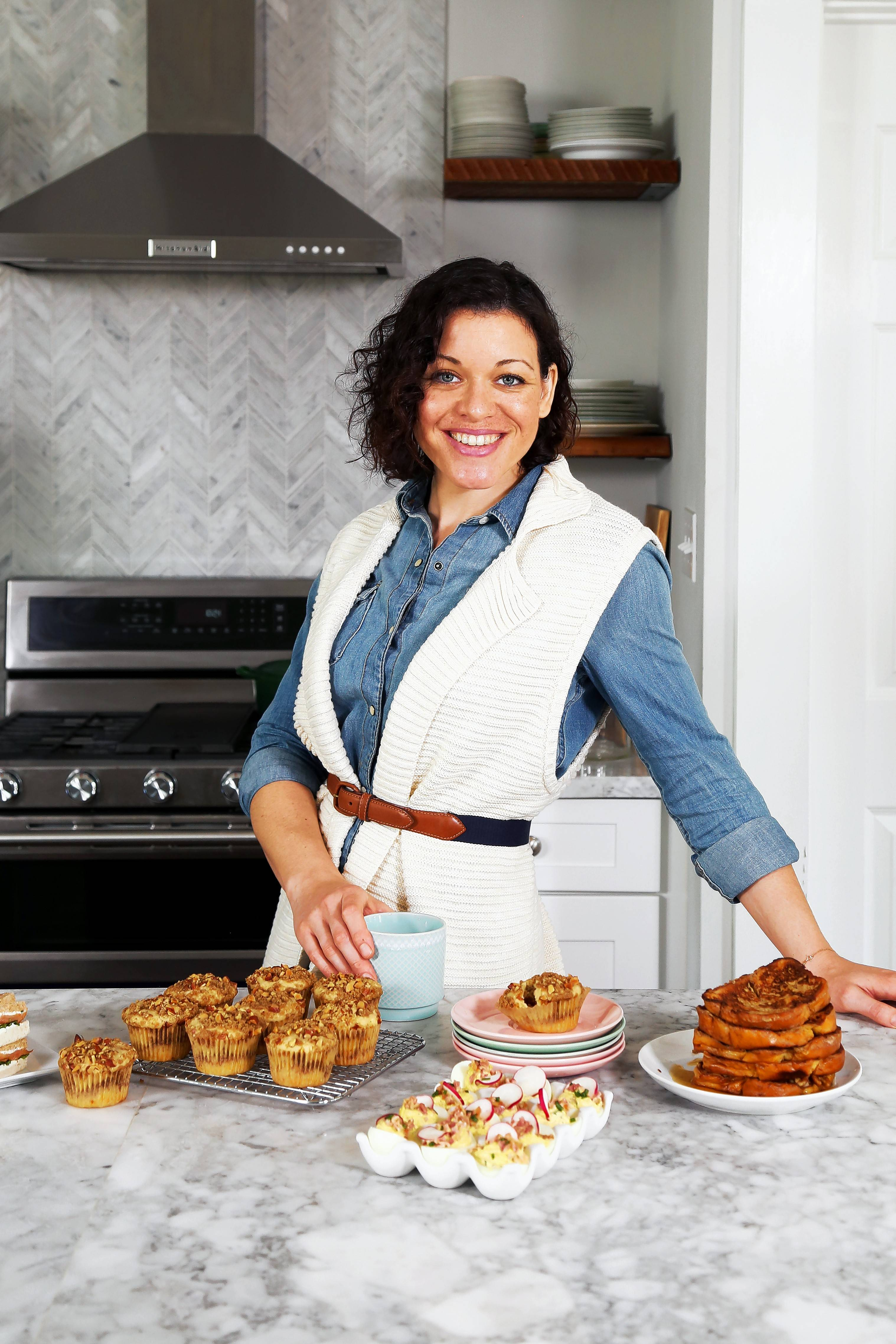 "Joy Wilson, author and Joy the Baker blogger, presents her new cookbook, ""Over Easy,"" at 2 p.m. Saturday, March 25, at the Read It & Eat bookstore in Chicago."