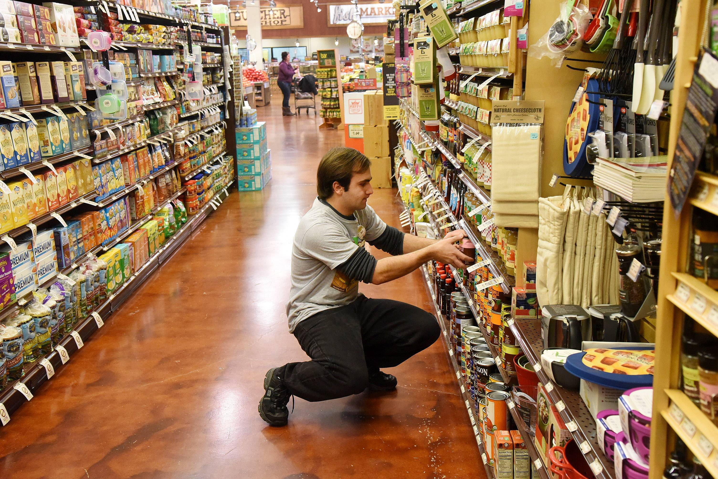 Not only did Ben Nicholas learn social skills through his part-time job at Fresh Thyme Farmers Market in Mount Prospect, the 22-year-old man with autism says he had fun, made friends and even came up with an improvised device to straighten jars in the spice rack.