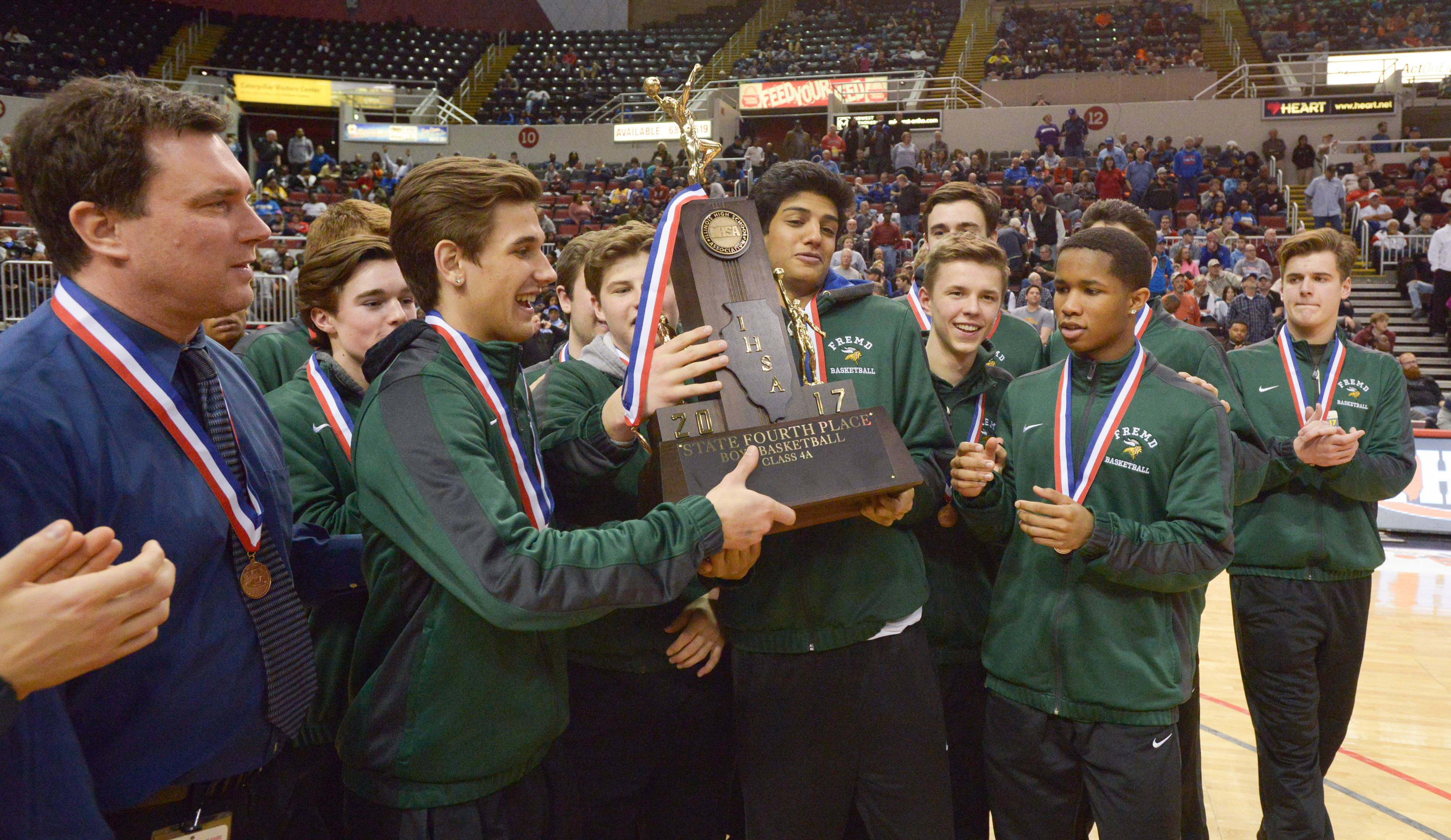 It's a fourth-place finish for Fremd