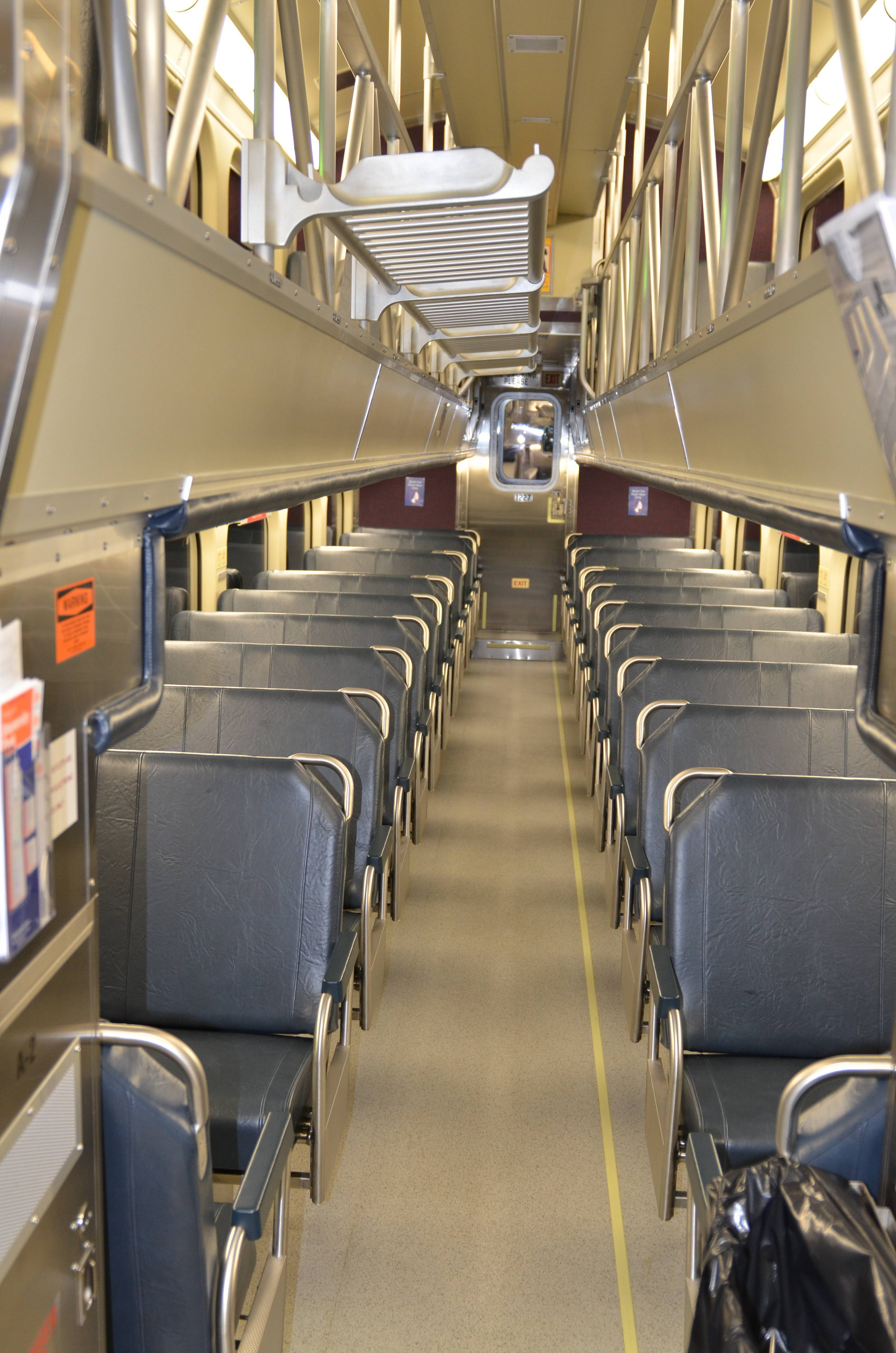 Metra expects to rehab 43 old cars this year.