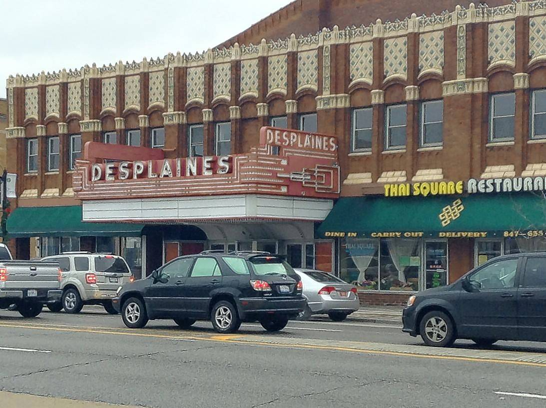 A former vaudeville and movie house, the Des Plaines Theatre opened at 1476 Miner St. in 1925 with seating for more than 1,000 people. Damaged by fire in 1982, it went through several more owners before closing in 2014.