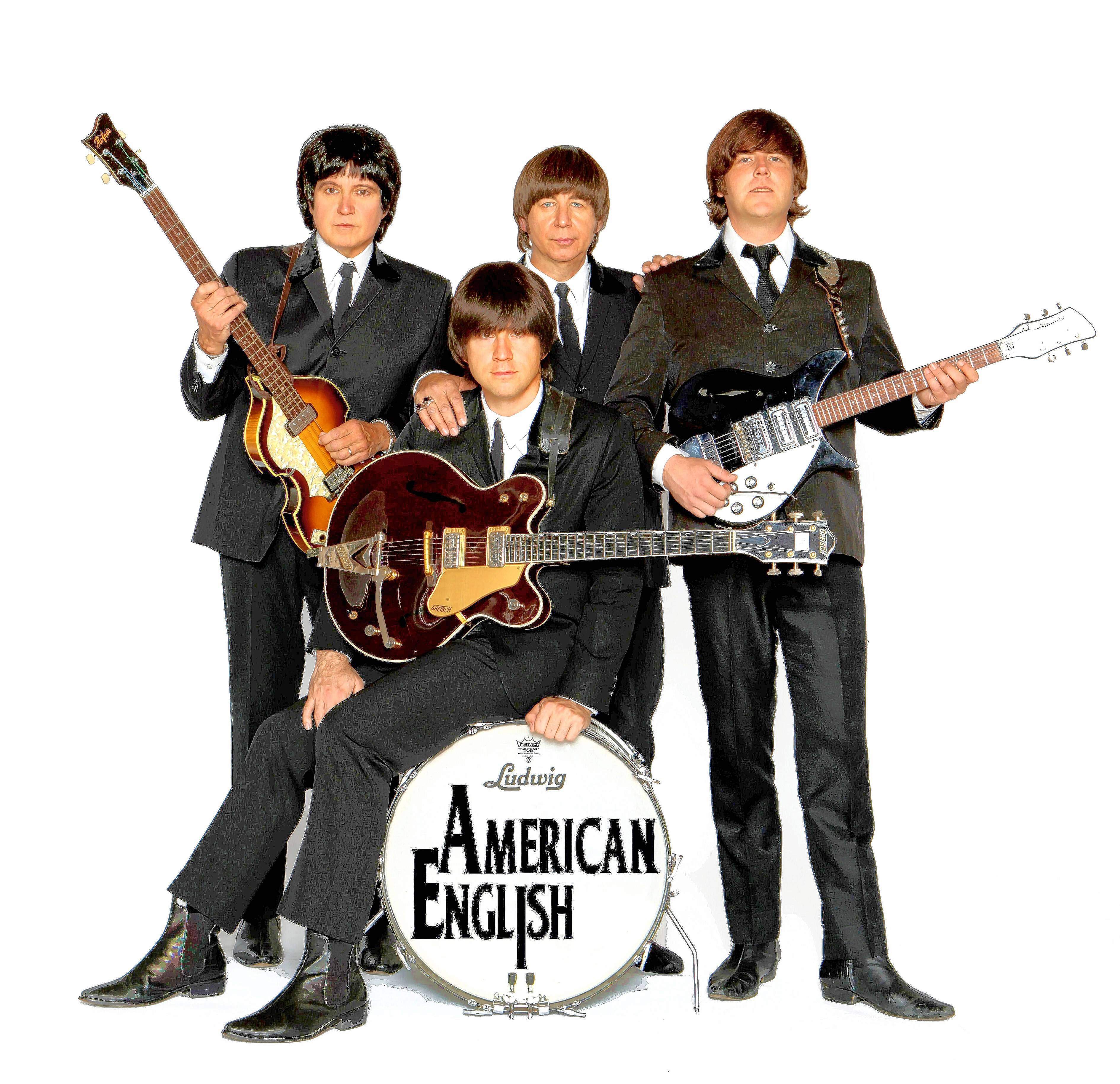 American English, a Beatles tribute band, will open the 2017 Lakeside Pavilion Free Outdoor Pop Music Series with a July 14 concert at the College of DuPage in Glen Ellyn.
