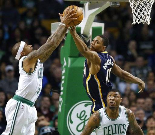 Hot Shooting Celtics Beat Nuggets On A Night Of Little: Thomas Scores 25; Celtics Stay Hot At Home With 109-100 Win