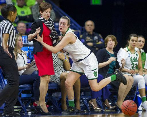 Notre Dame looks to move on without injured forward Turner