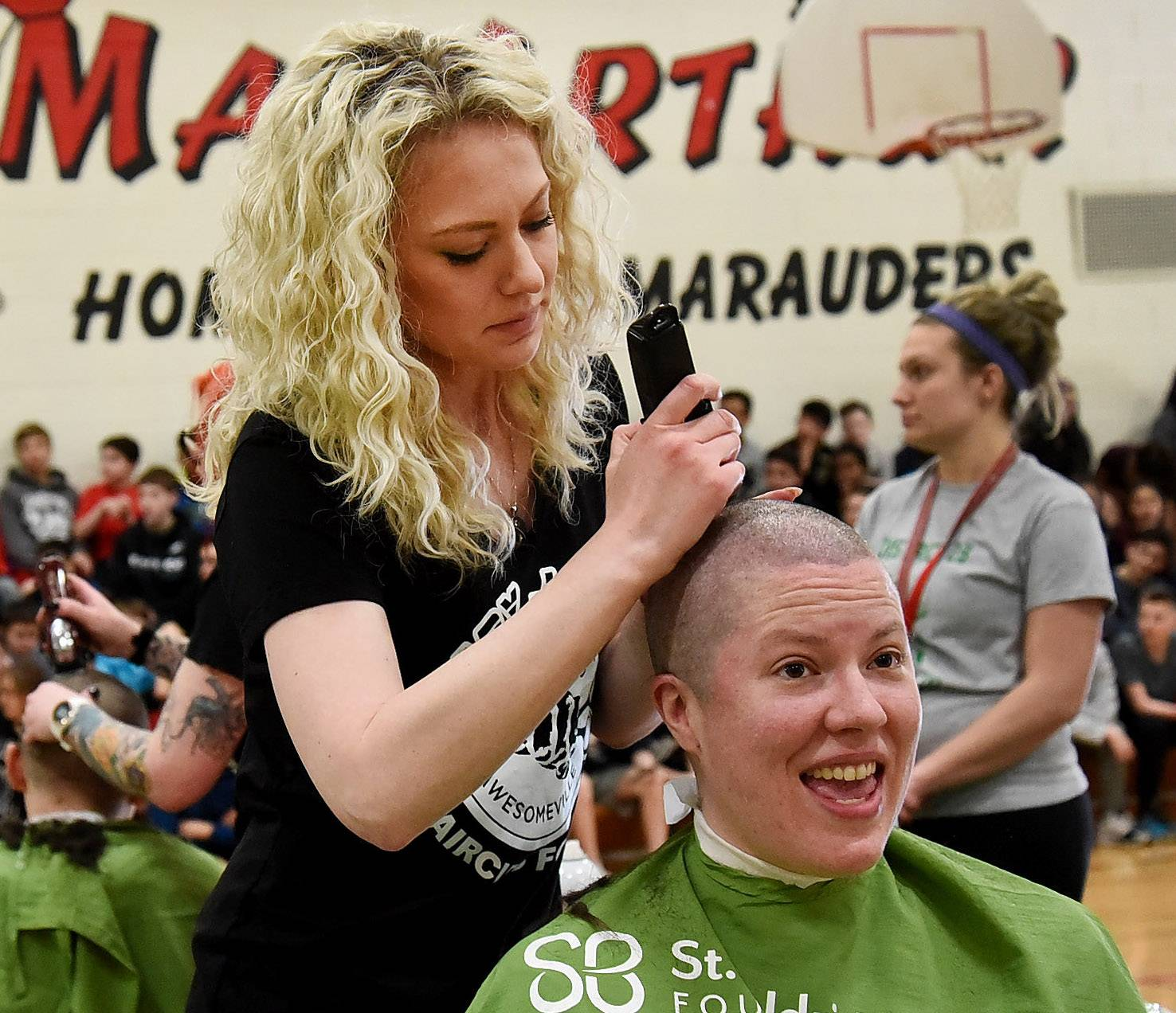 hairrazing fundraiser in prospect heights