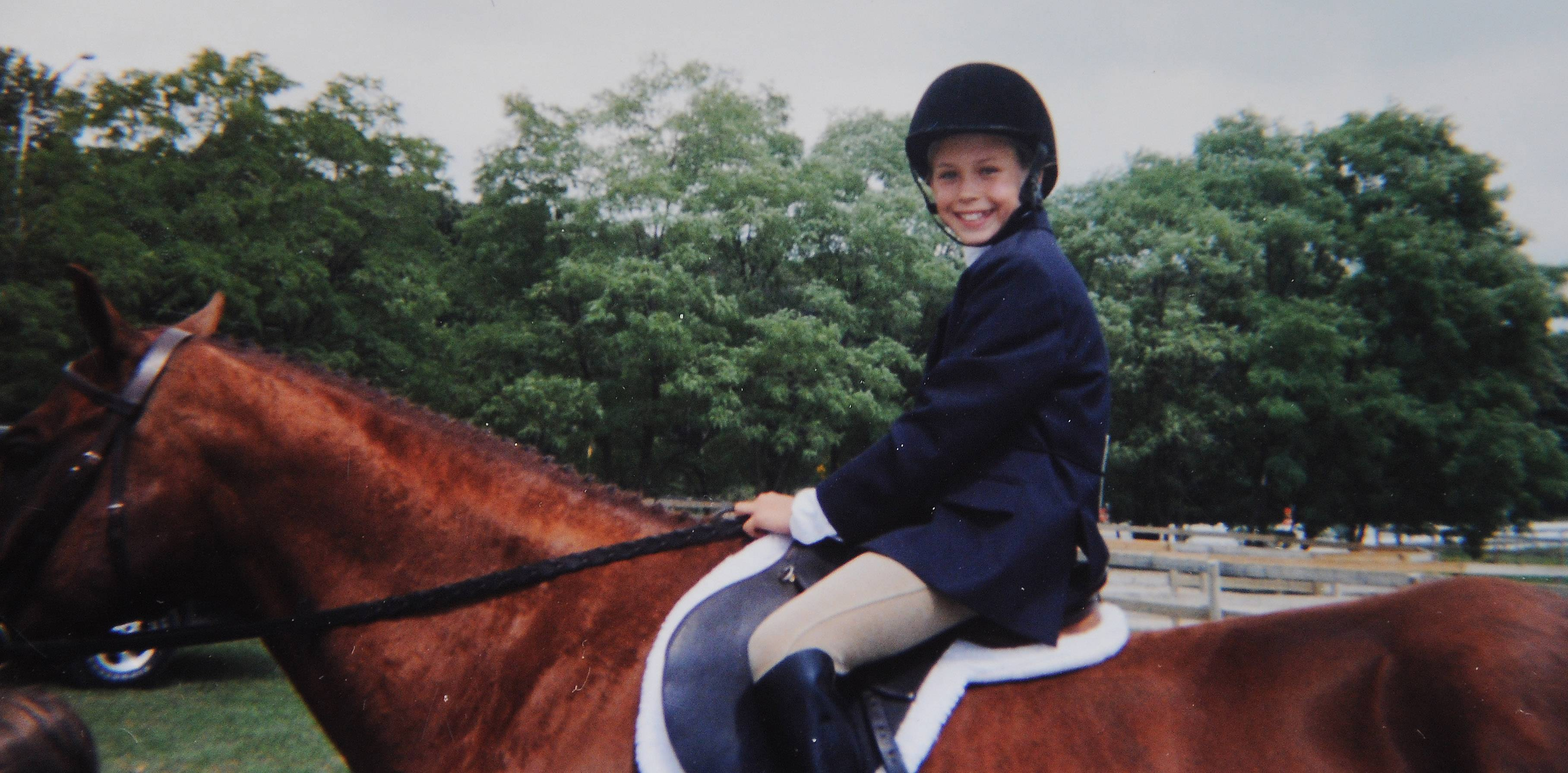 Daughter Alexis's passion was riding horses, says her father, Gary Fusz.