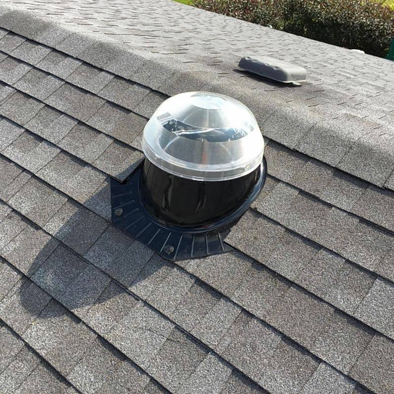 Tubular skylights can be equipped with a solar panel that charges during the day and then powers a soft night light when the sun goes down.