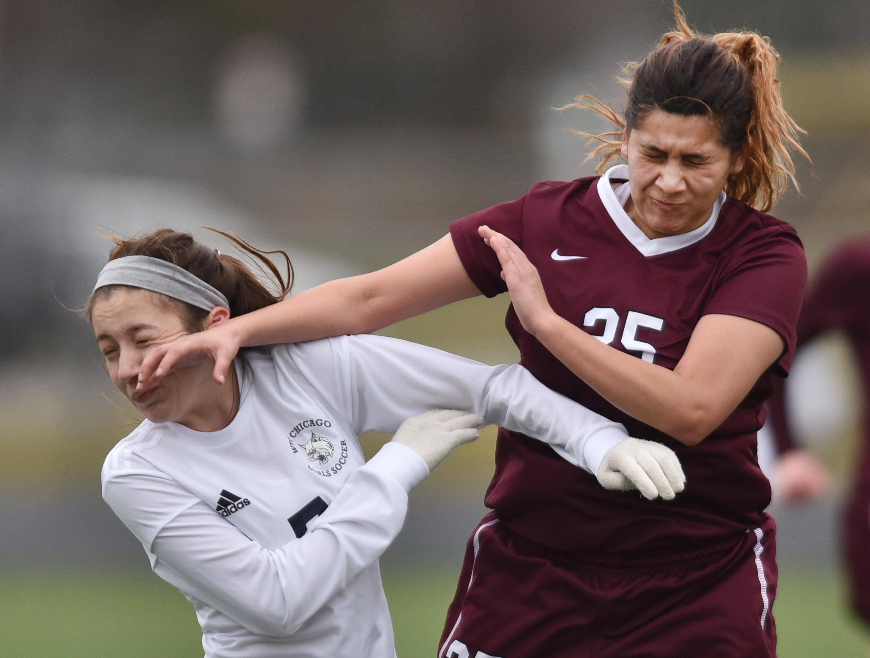 Girls soccer: West Chicago forges tie with Elgin