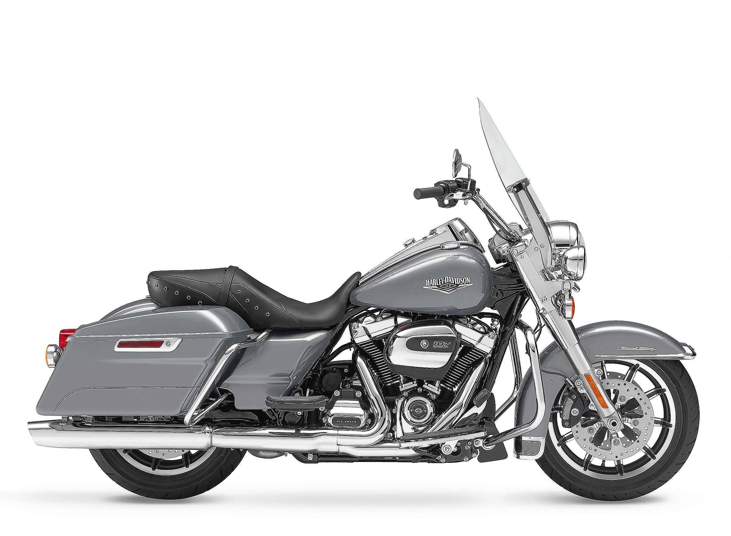 The new Road King starts at $18,999 for Vivid Black, or $19,449 for a color.