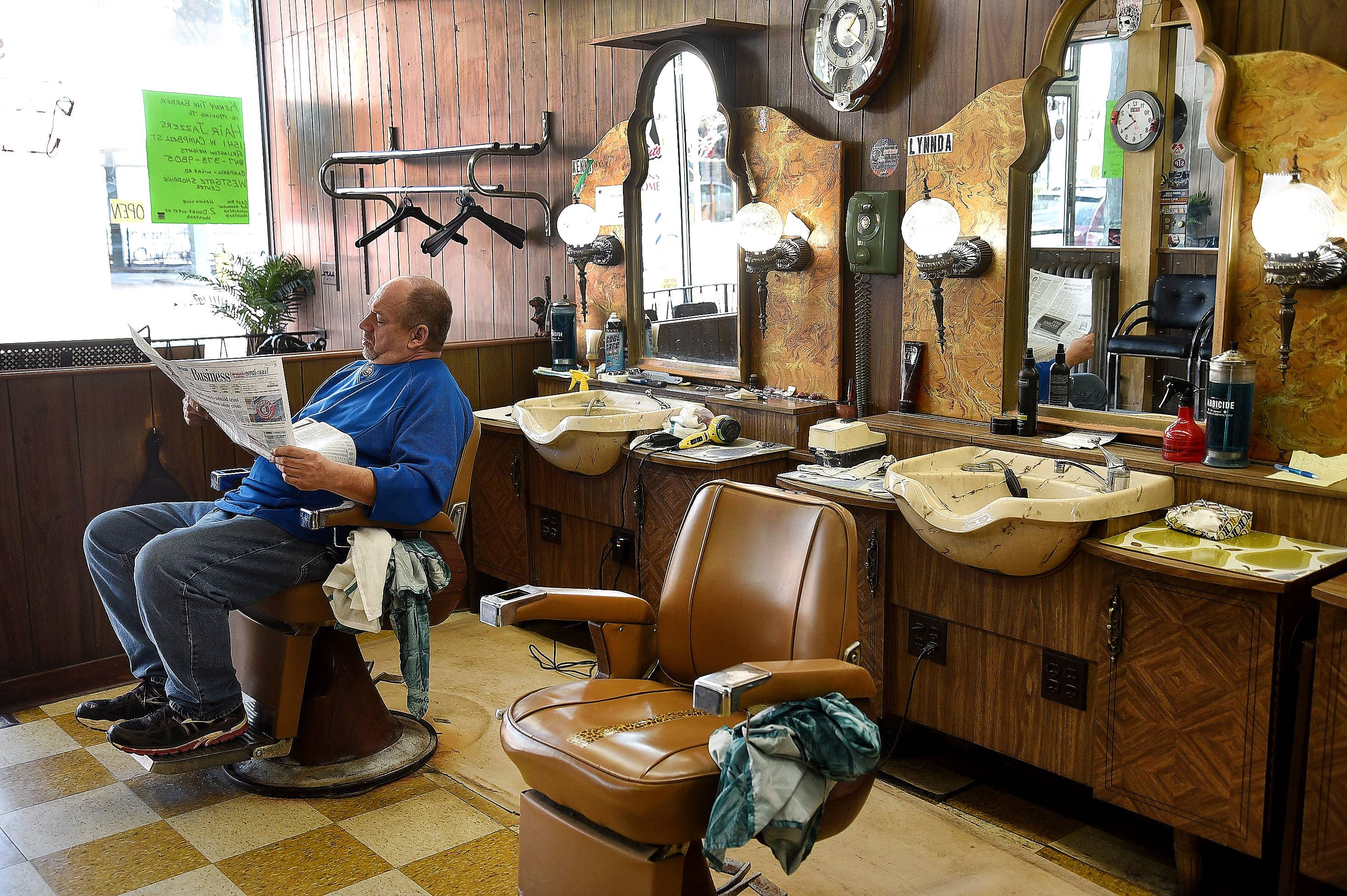 first time in a barber shop essay For black men, the barbershop is more than just a place where we get our hair  cut  over time these black-owned barbershops became our safe havens  i  quickly changed the subject, not wanting my first haircut with him to.