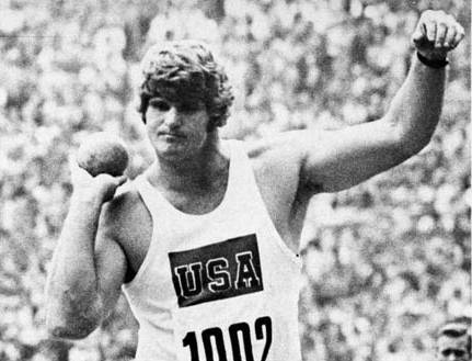 Brian Oldfield, pictured here during the 1972 Olympics, died Sunday at age 71 in his native Elgin.