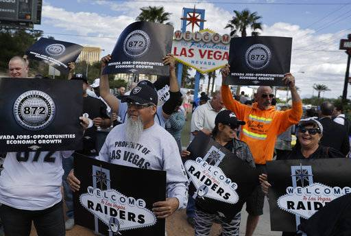 All bets are off opening day when Raiders come to Las Vegas