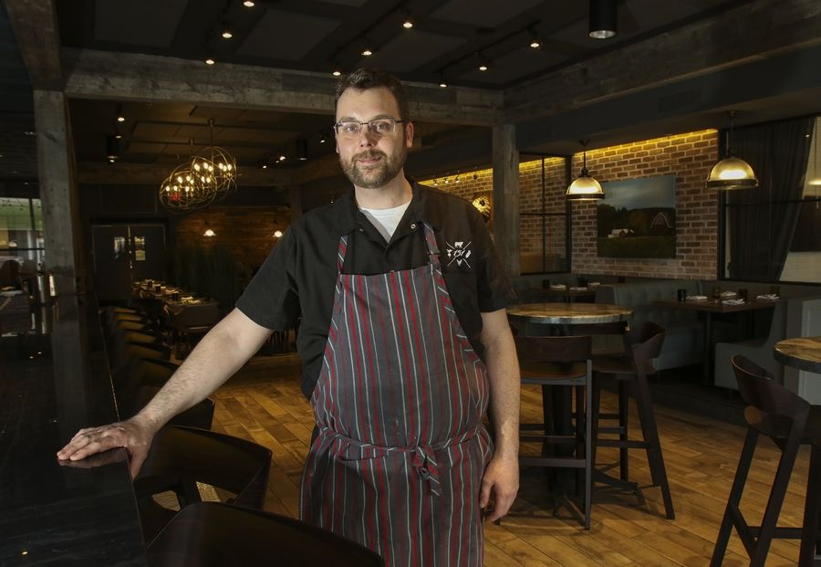 Executive chef Sean Sanders elevates American comfort food at One Fifty One Kitchen/Bar in Elmhurst.