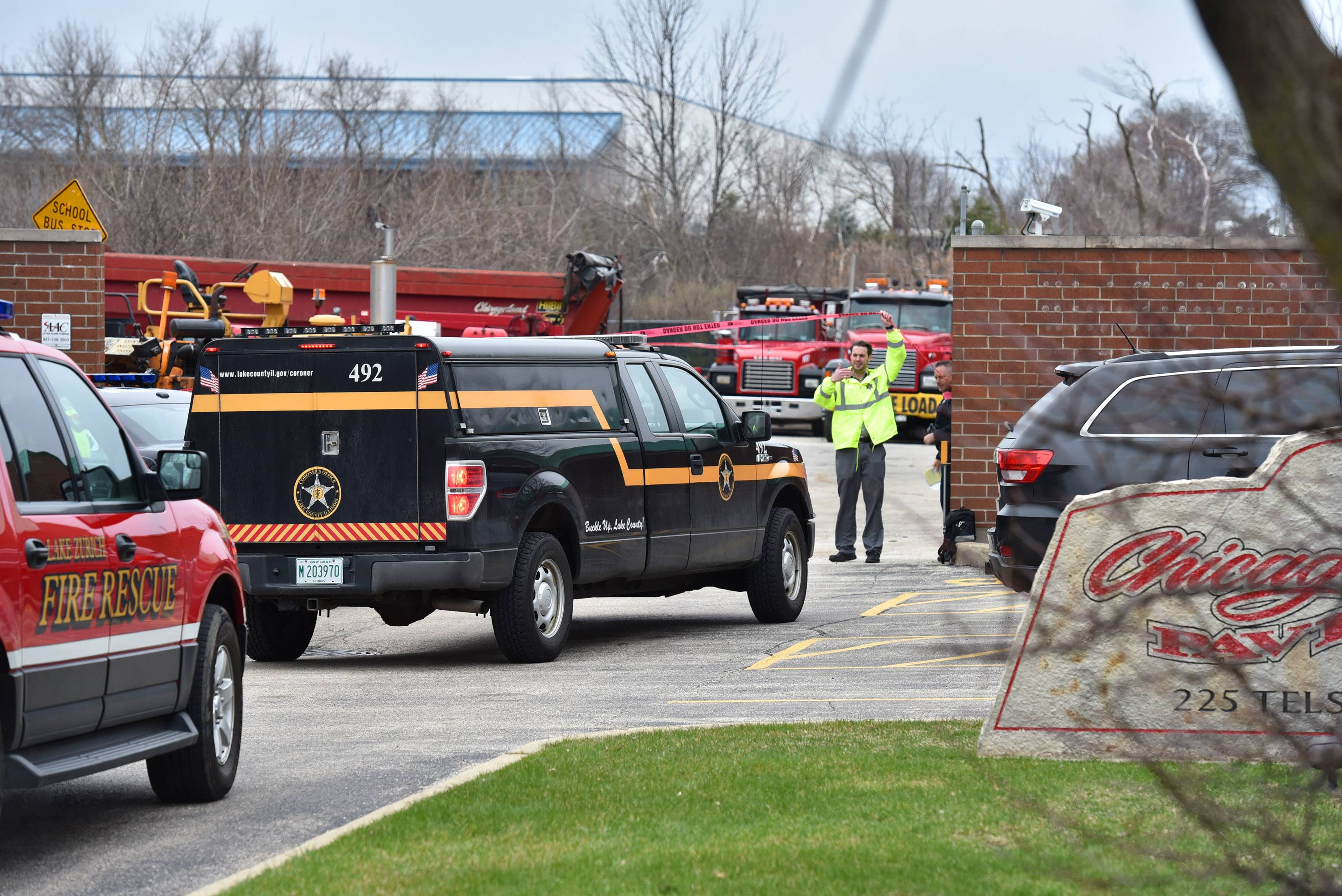 Man killed by equipment at Lake Zurich business