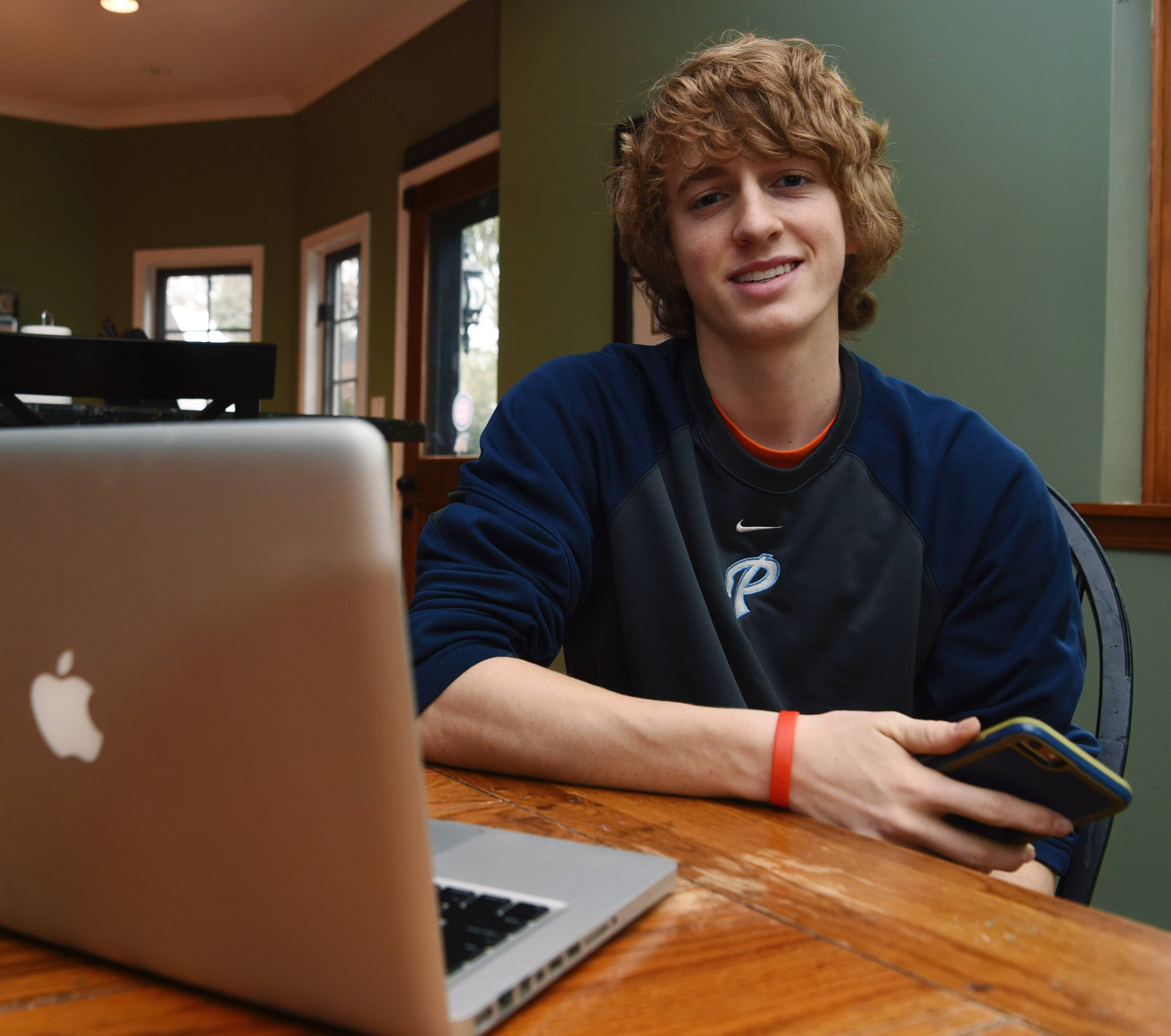 Connor Morrison of Arlington Heights is a young entrepreneur who has millions of followers on Instagram.