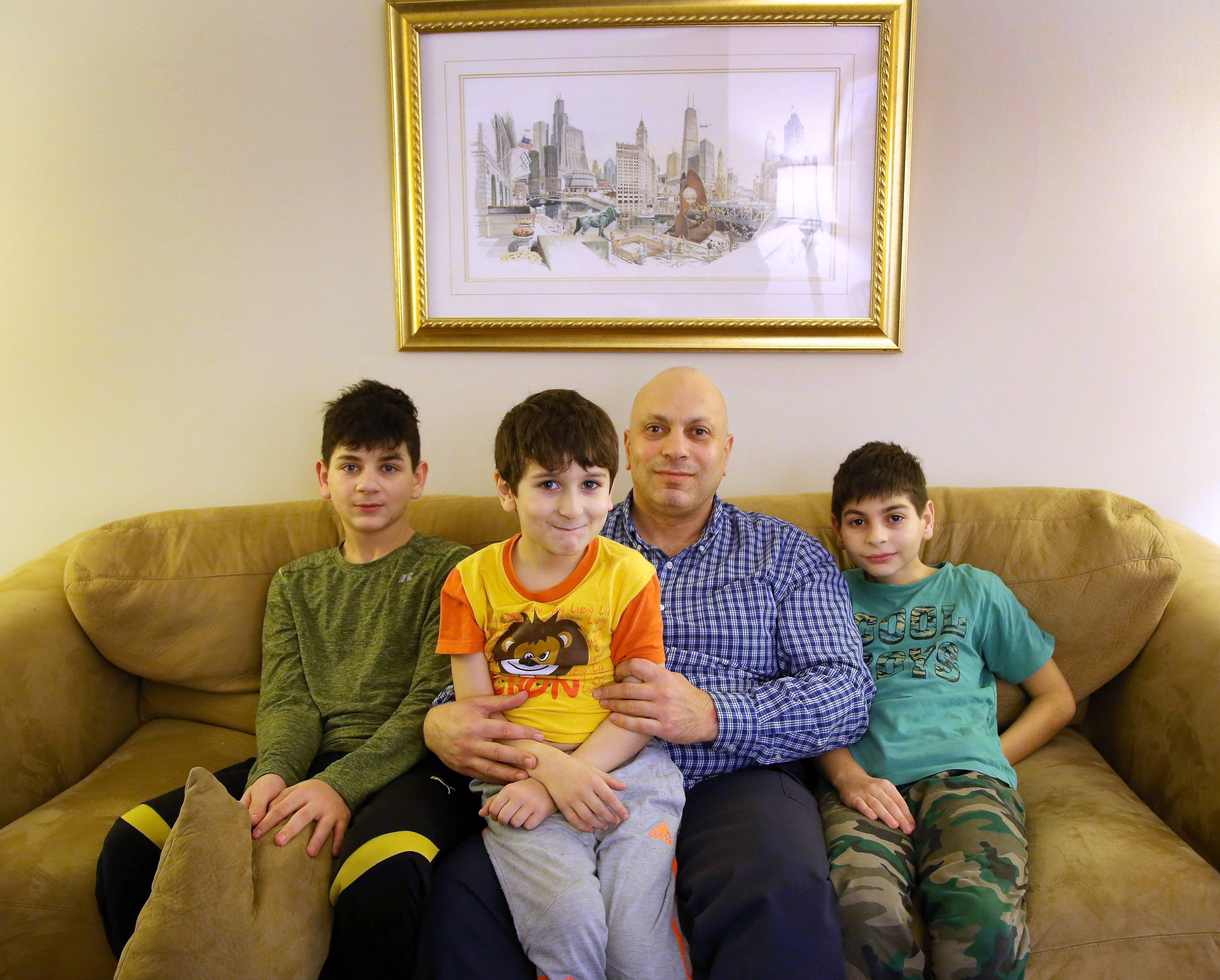 Lester: After three years apart, Syrian family in Des Plaines to reunite