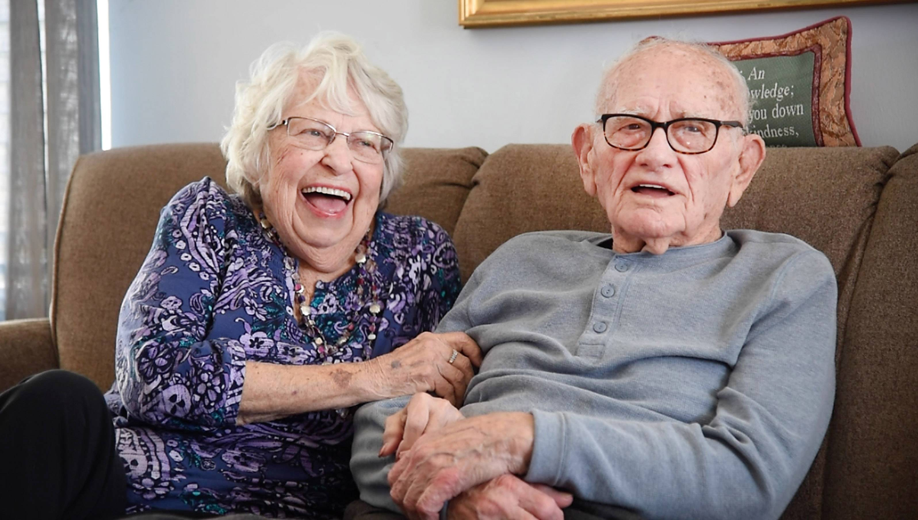 Titanic, war, faith and fun all part of 70-year marriage