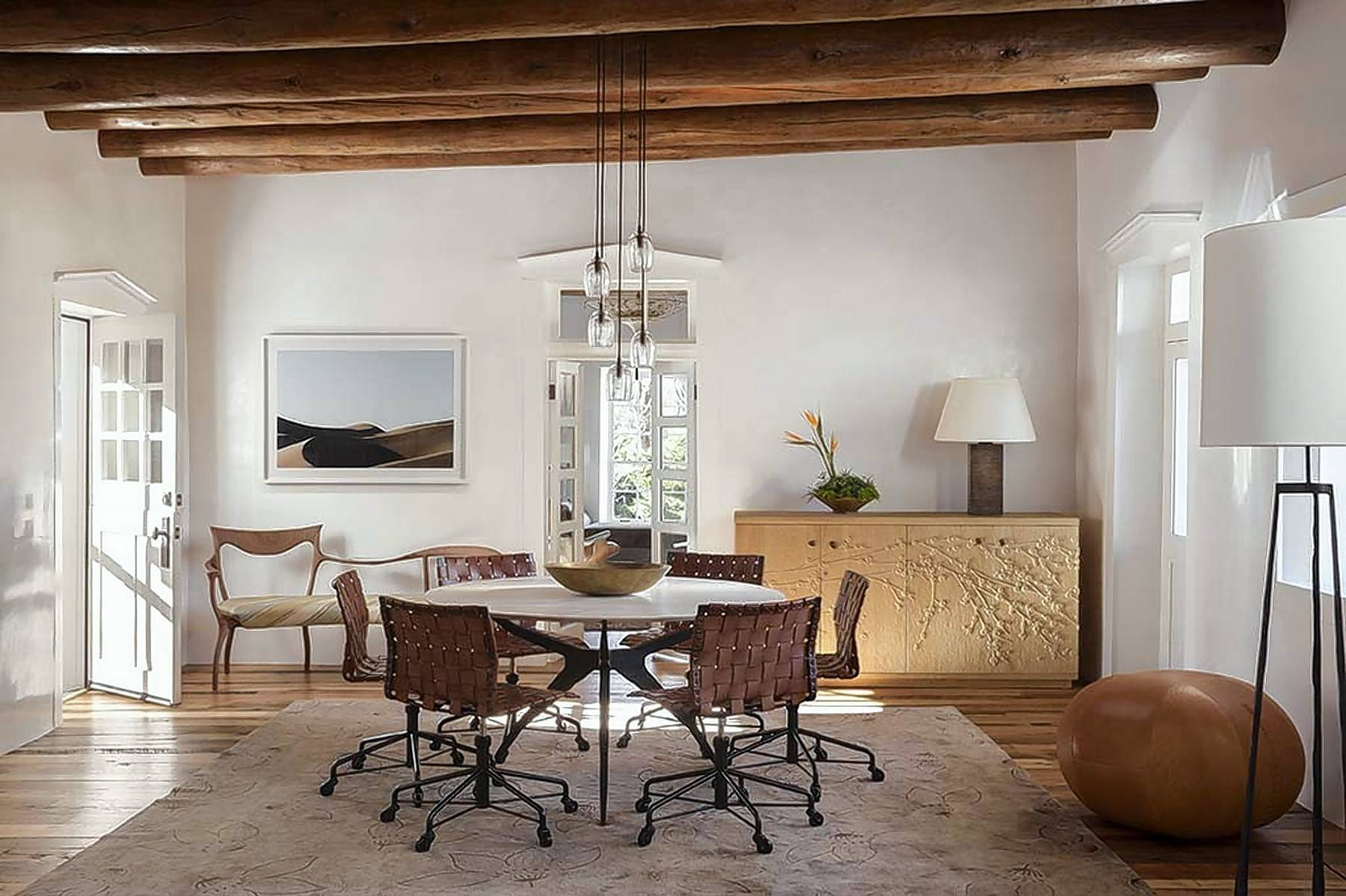 Santa Fe Style Has Evolved And Is Making A Comeback By Influencing Home  Design With Rustic